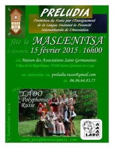 concert Maslenitsa russe