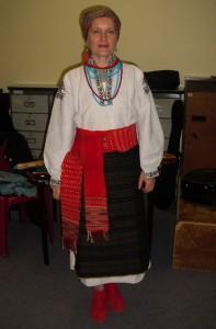 Costume de l'Uklraine de l'Ouest